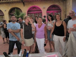 Mme Marhuenda ( ville de Massy ) & L'équipe d'AttrapTemps
