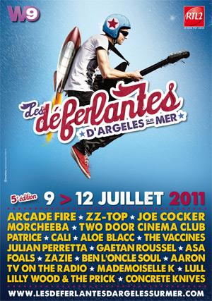 Affiche Deferlantes 2011