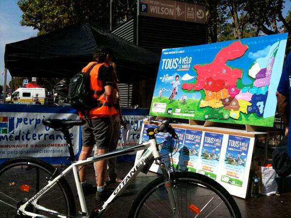 Evénementiel Tous à Vélo sur l'Agglo organisé par l'agence AttrapTemps
