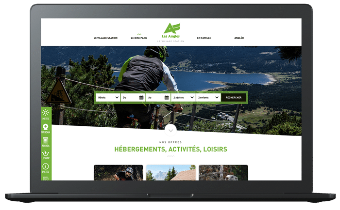 site web les angles by attraptemps