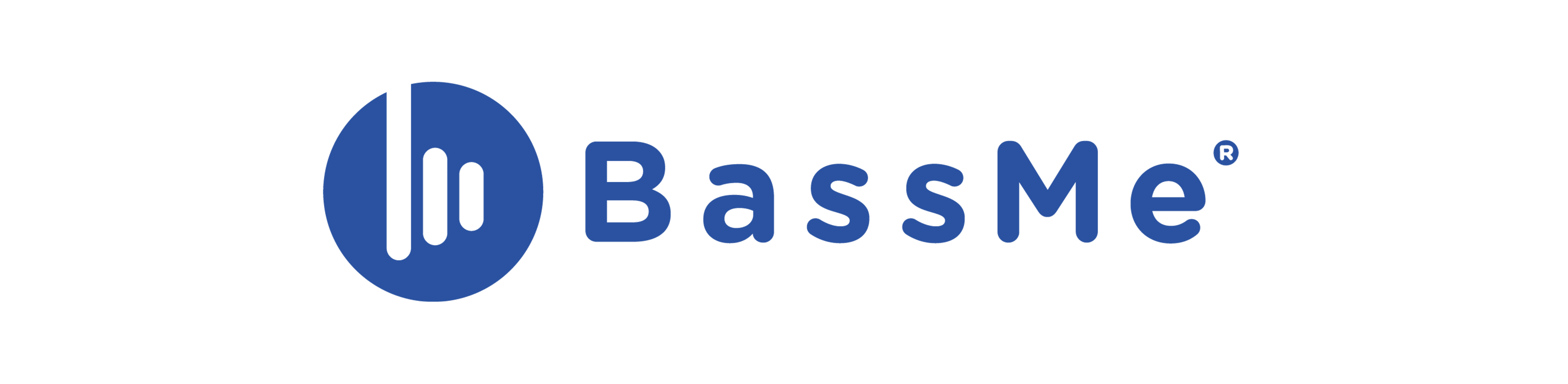 logo bleu bassme audio
