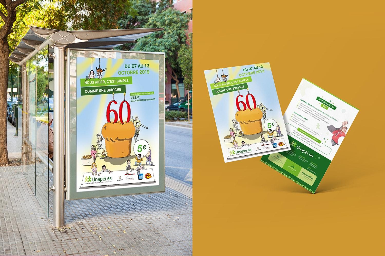 campagne communication opération brioches unapei 66